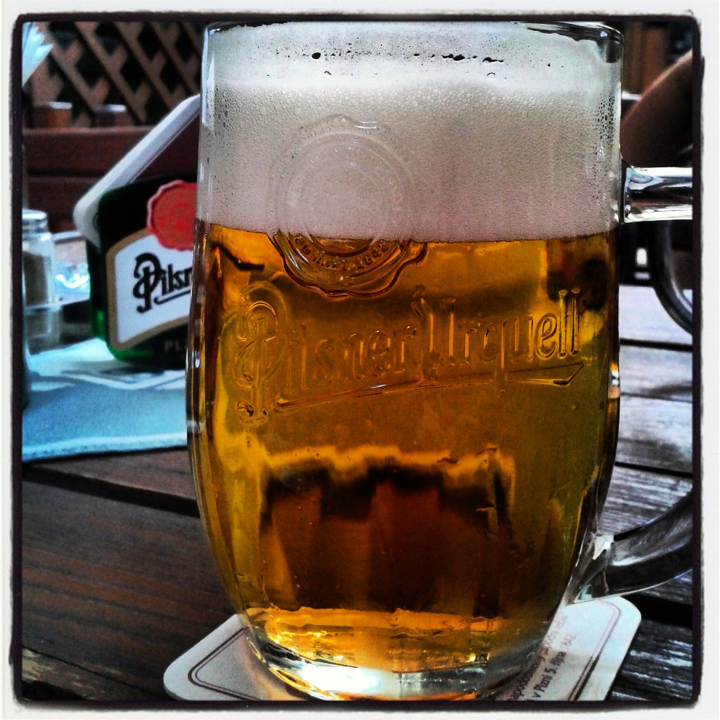 Pilsner Urquell Prague Beer