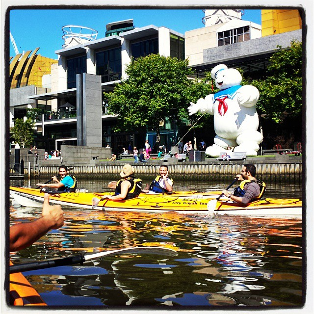 Kayaking in Melbourne