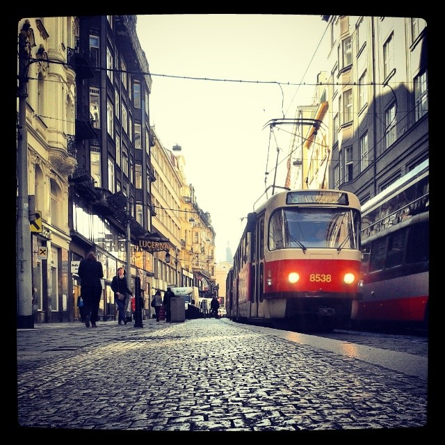 Prague local transit