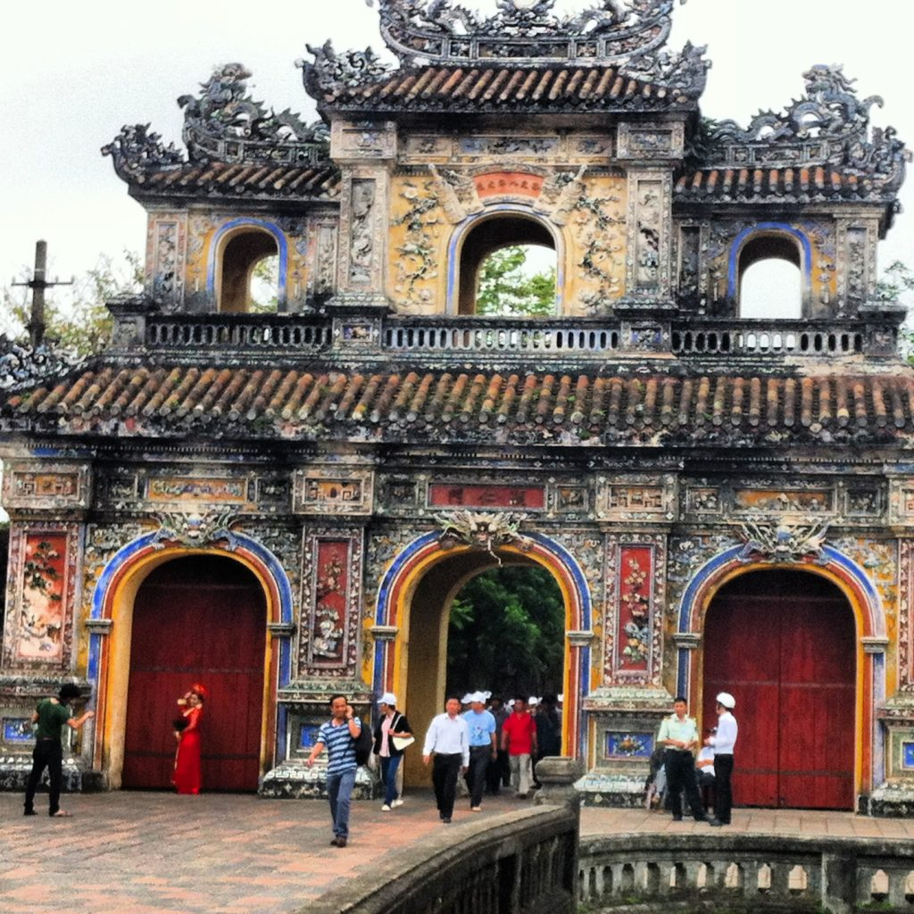 temple in Hue, Vietnam
