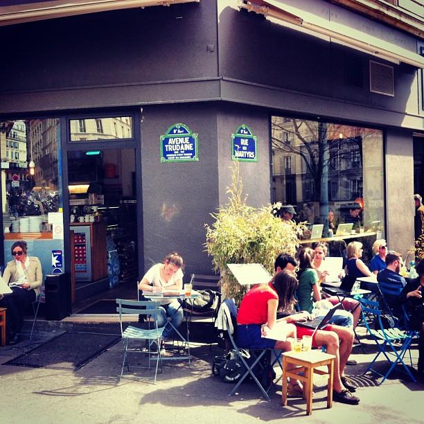 Paris cafe local travel