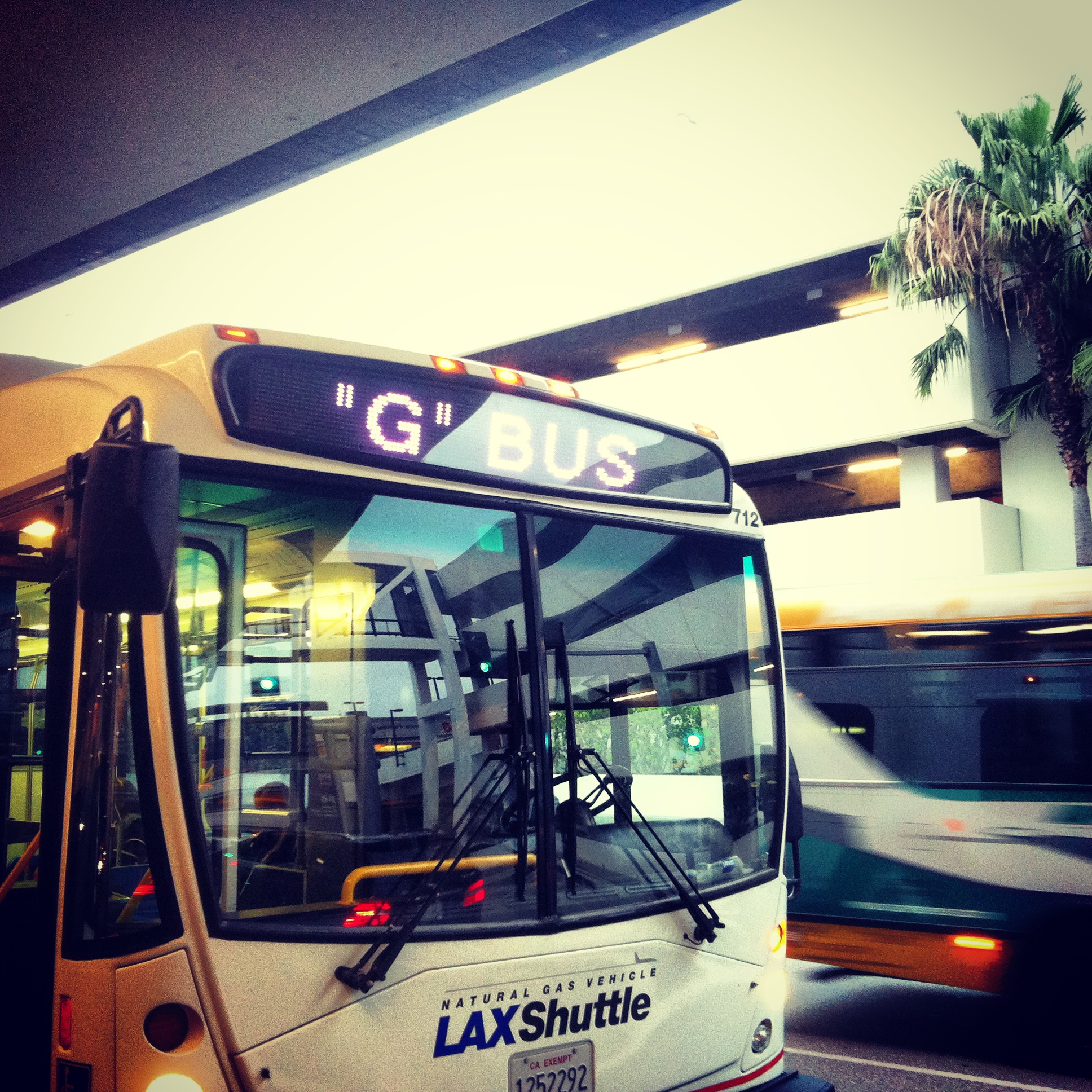 The G Bus - LA Public Transit