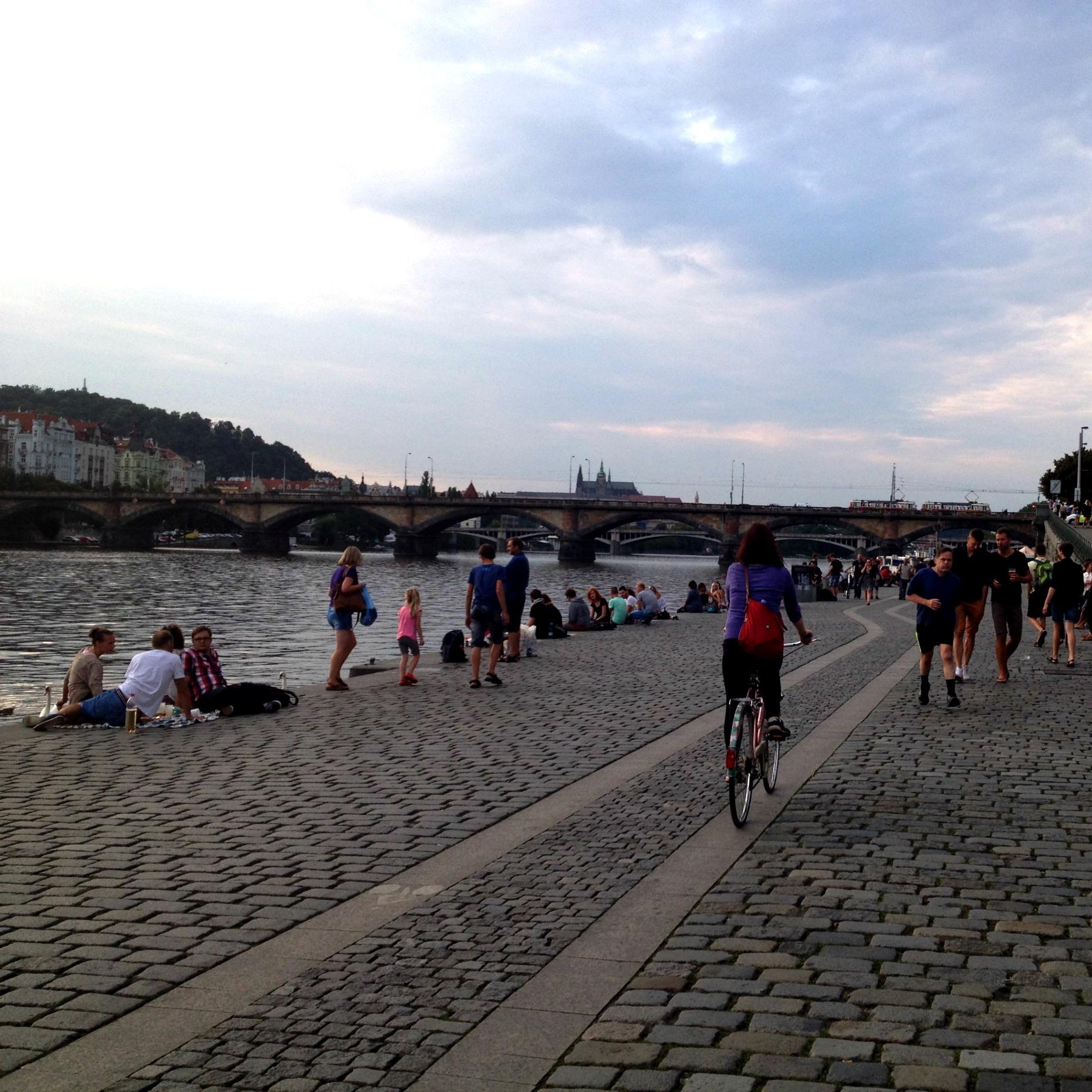 Naplavka Prague