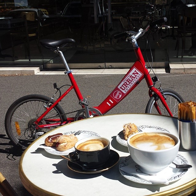 Melbourne bike and coffee