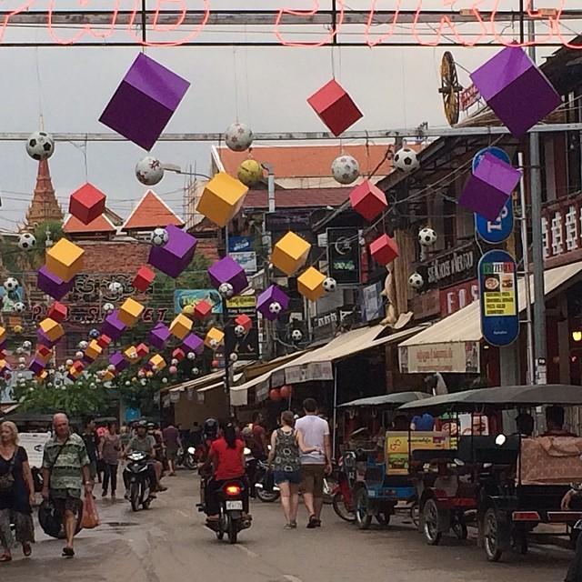 Cambodia Siem Reap pub street