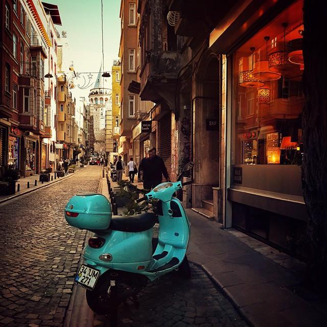 Istanbul - Vespa