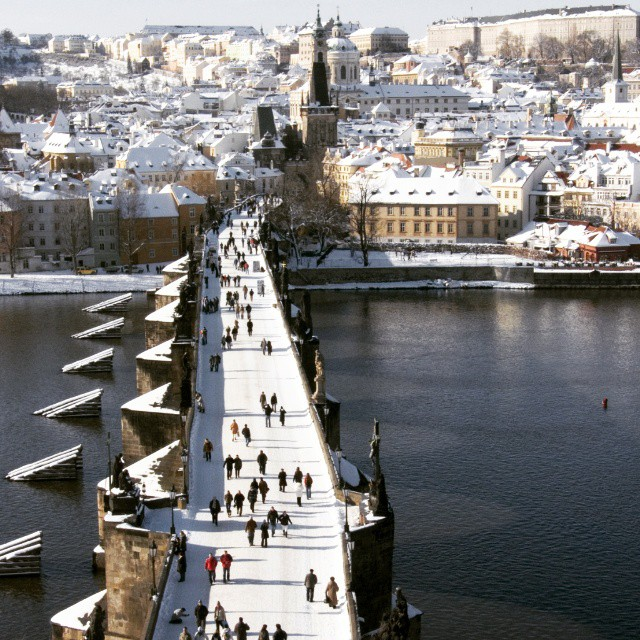 Prague - Winter view