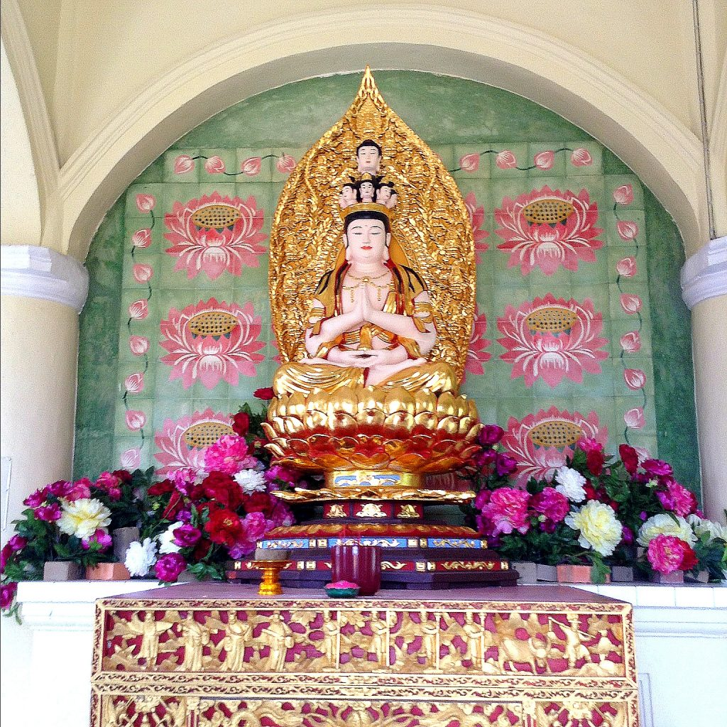 shrine at Kek Lok Si Temple