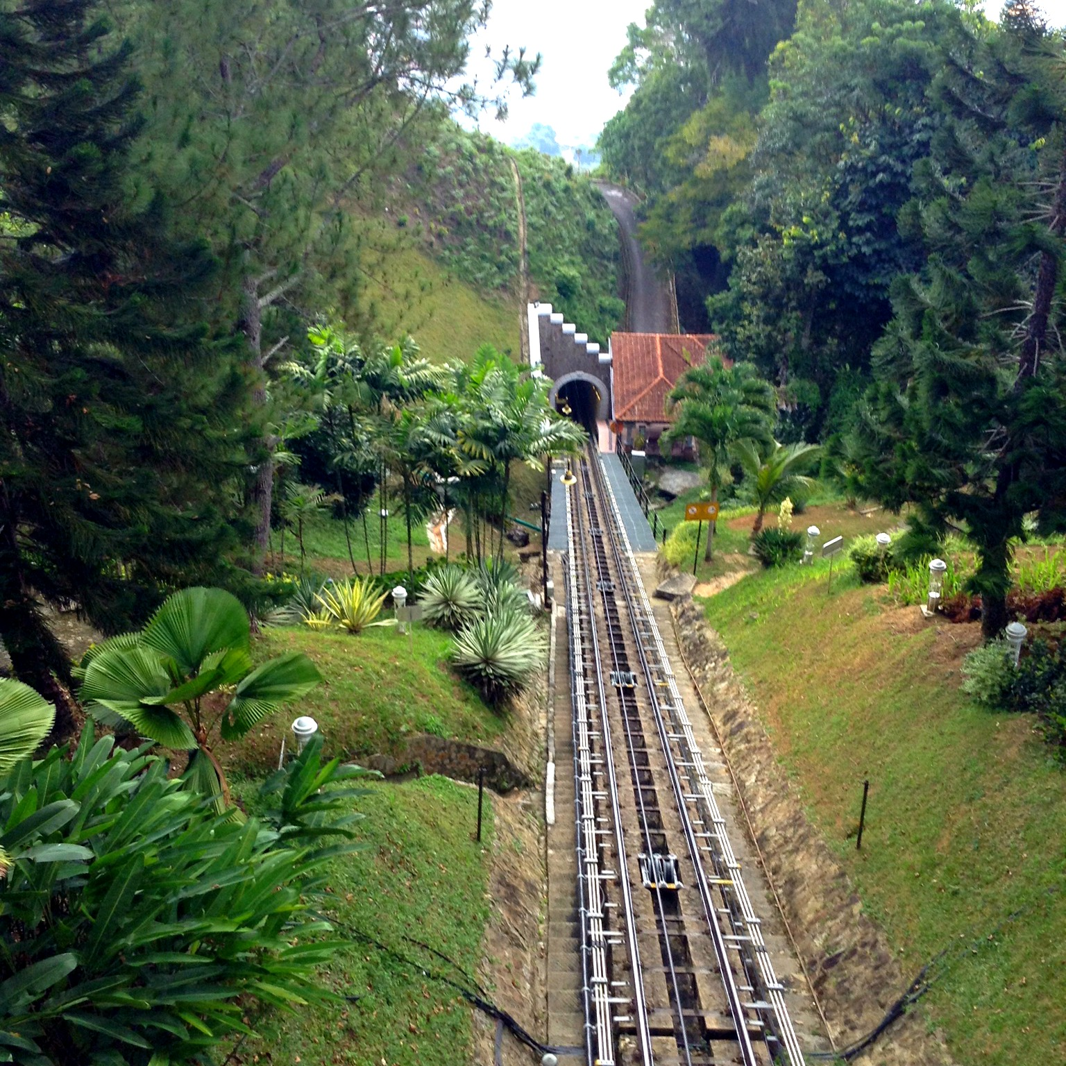 track leading up Penang Hill