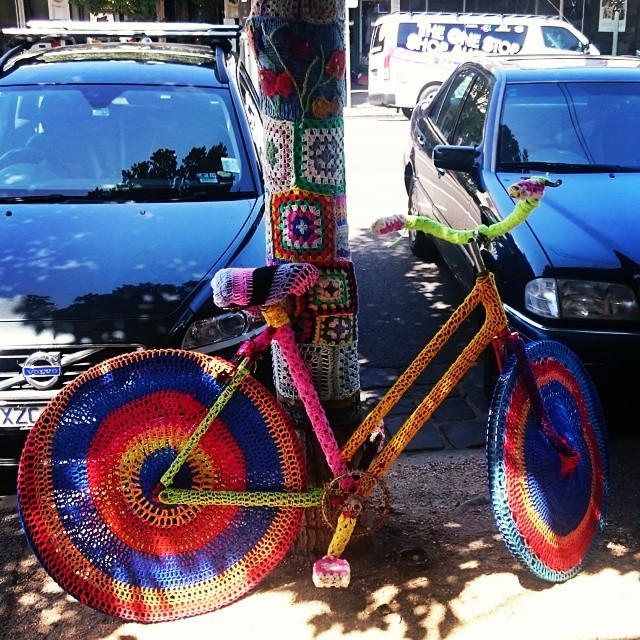 Melbourne yarn bike