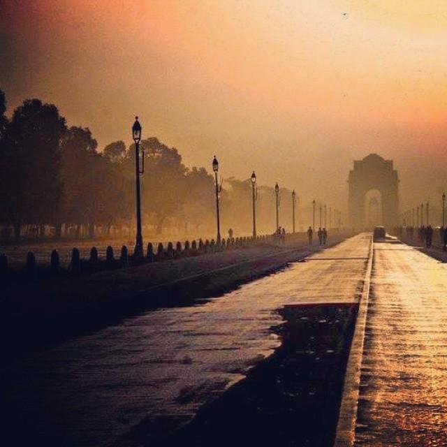 Delhi - Sunset