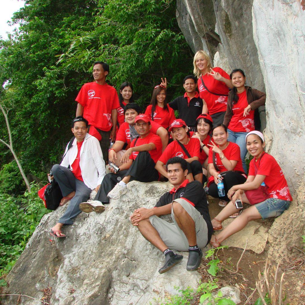 urban adventures team in cambodia