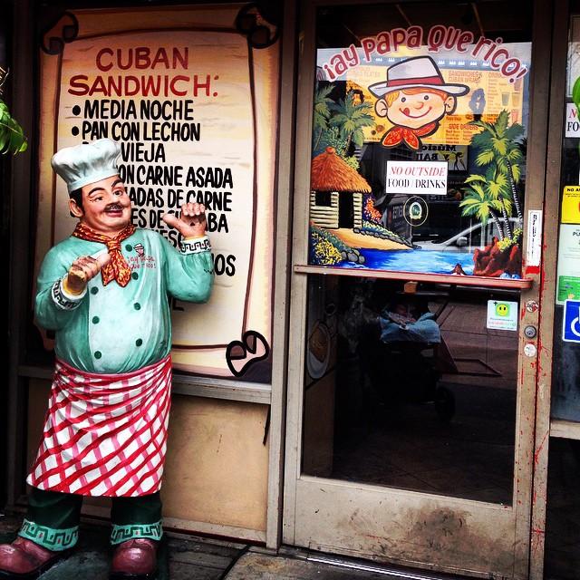 cuban sandwich shop exterior