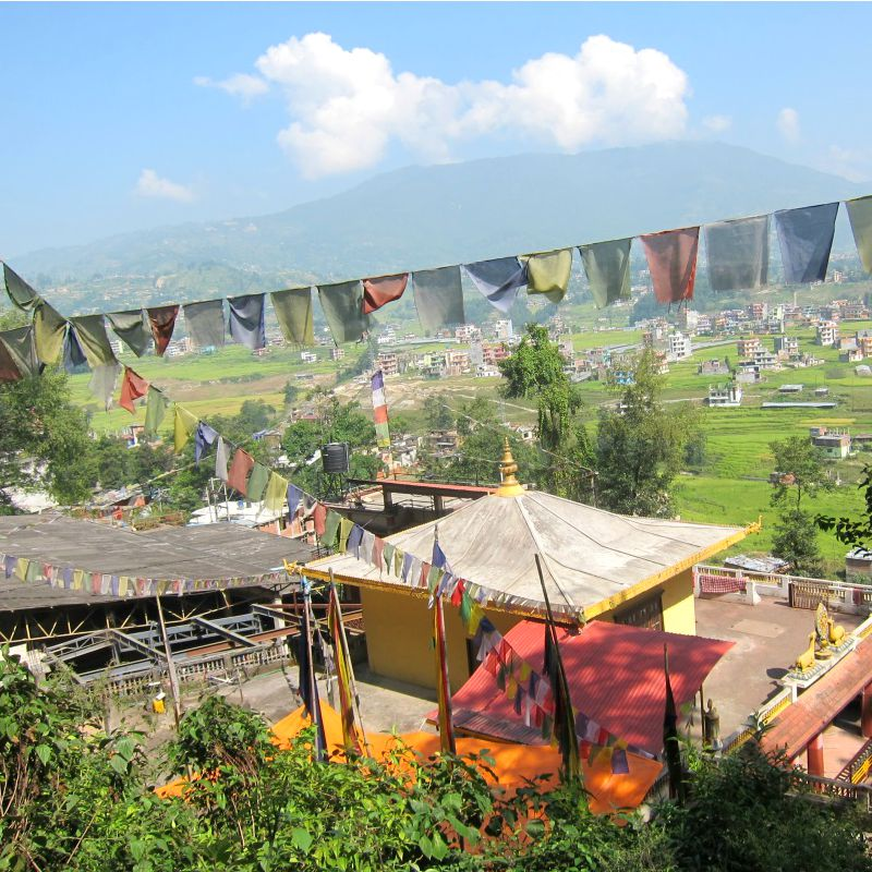 biking in kathmandu