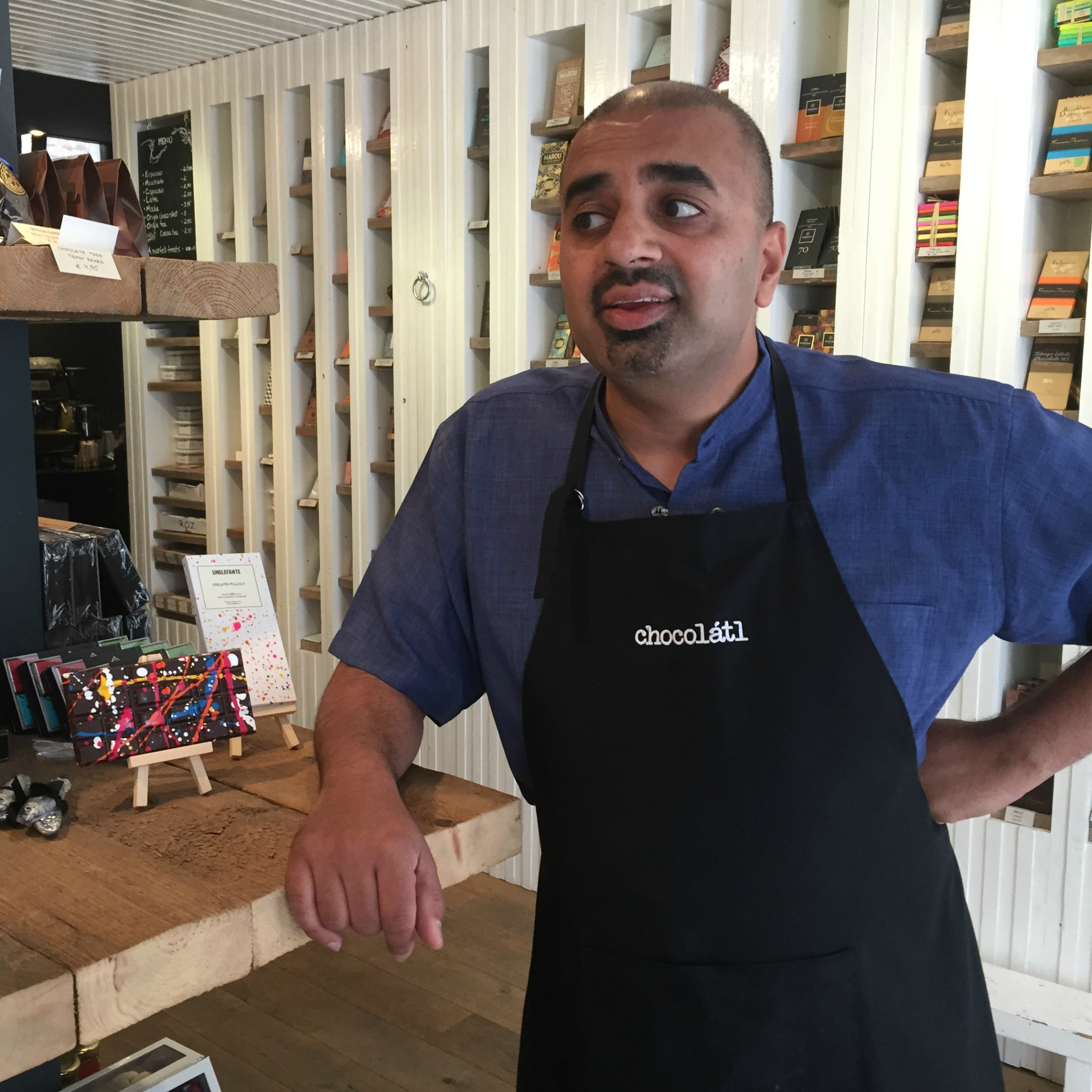 adil of chocolatl amsterdam