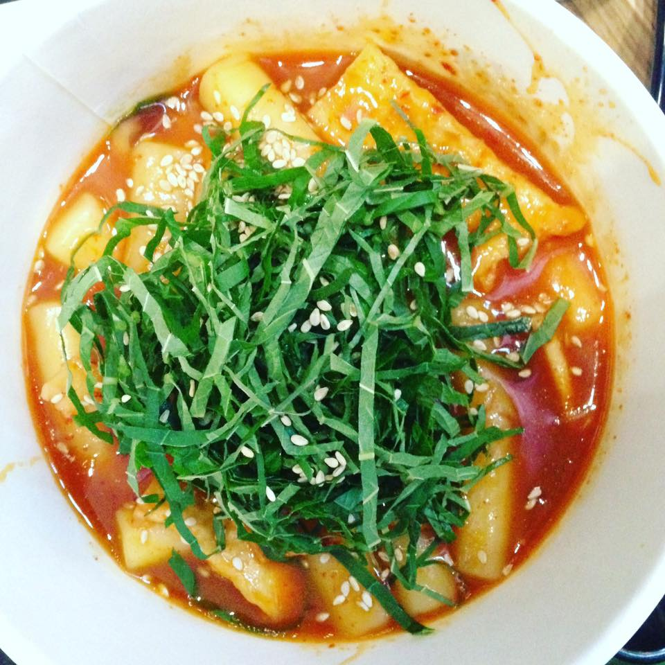 bowl of tteobokki in seoul