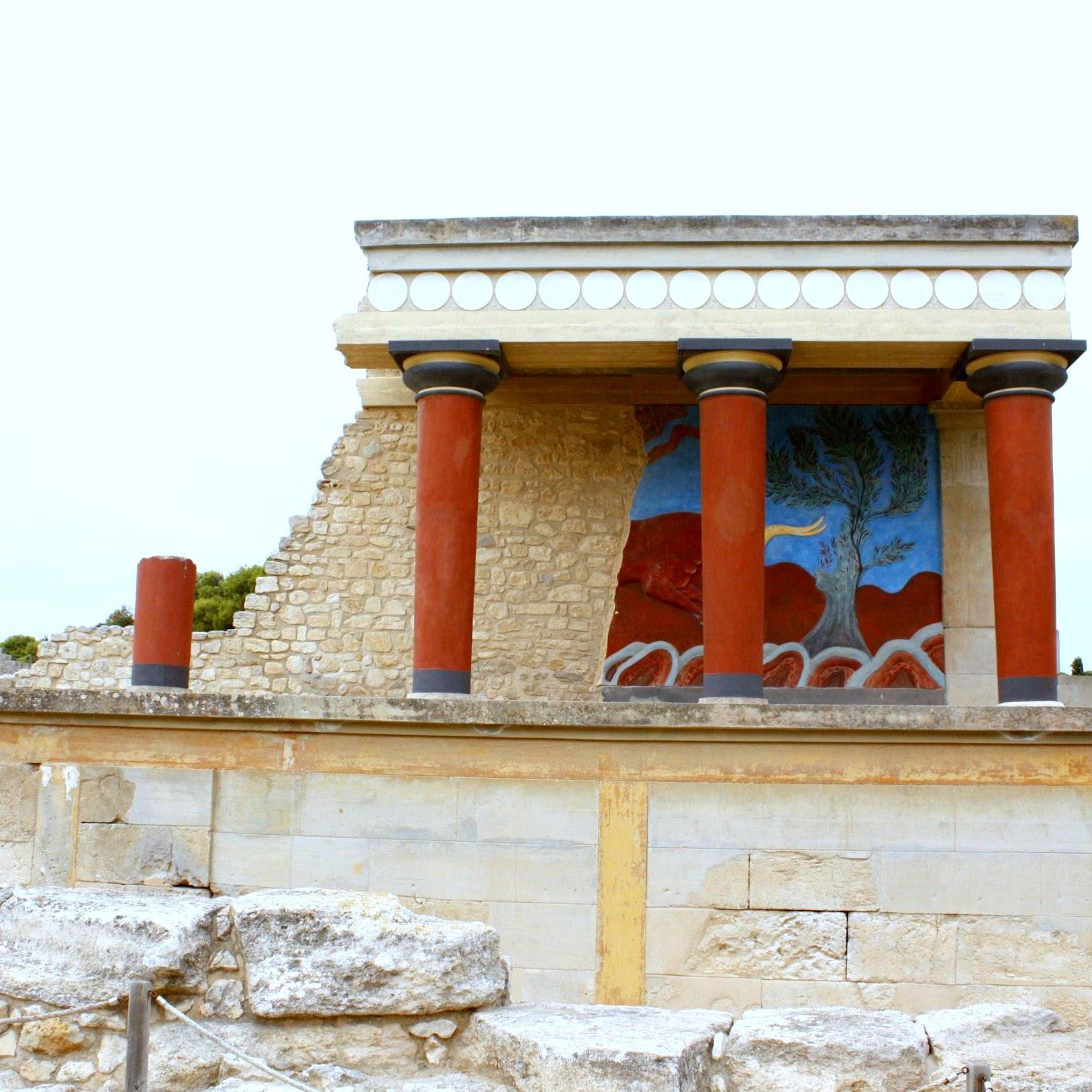 ruins of knossos crete