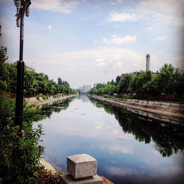 dambovita river in bucharest
