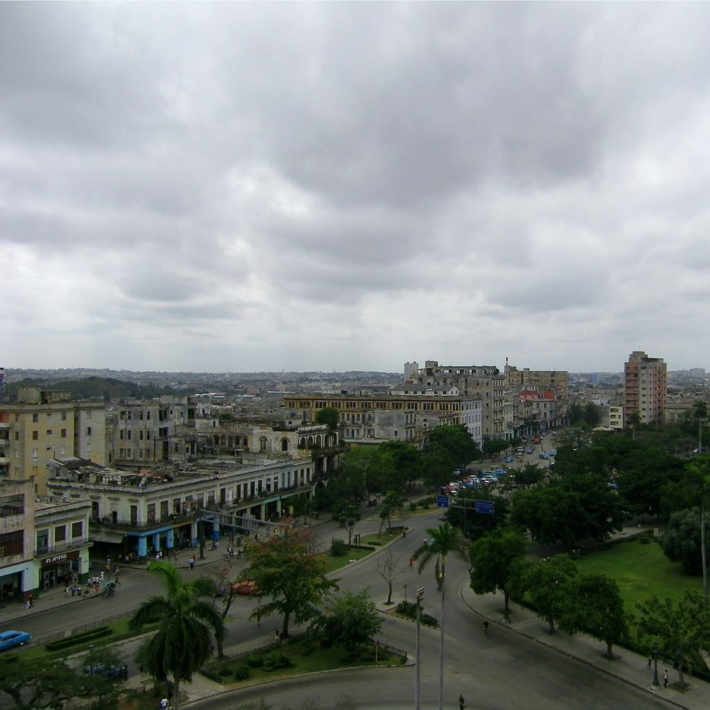 view of havana from above