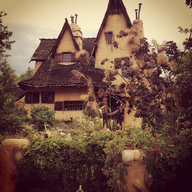 witches' house in los angeles