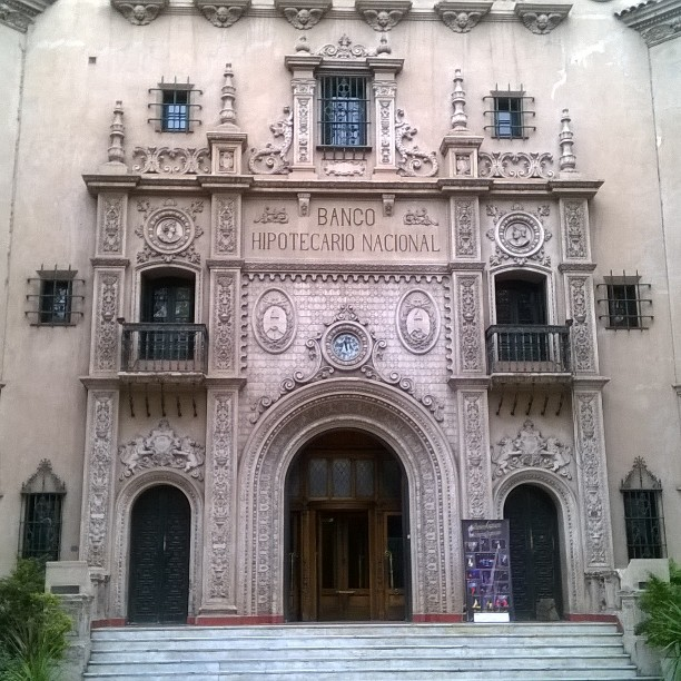 historic banco hipotecario in mendoza