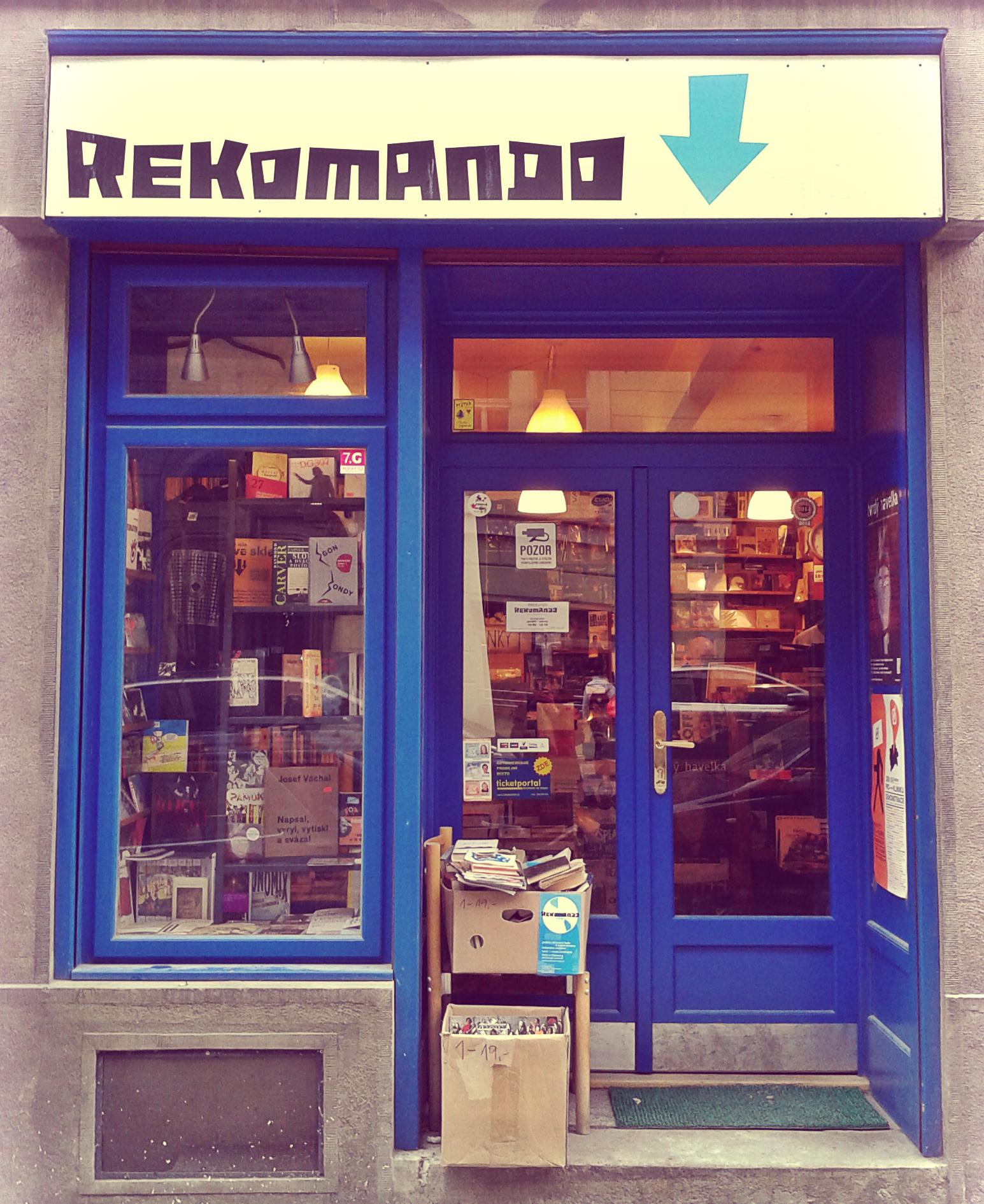 Rekomando in Prague