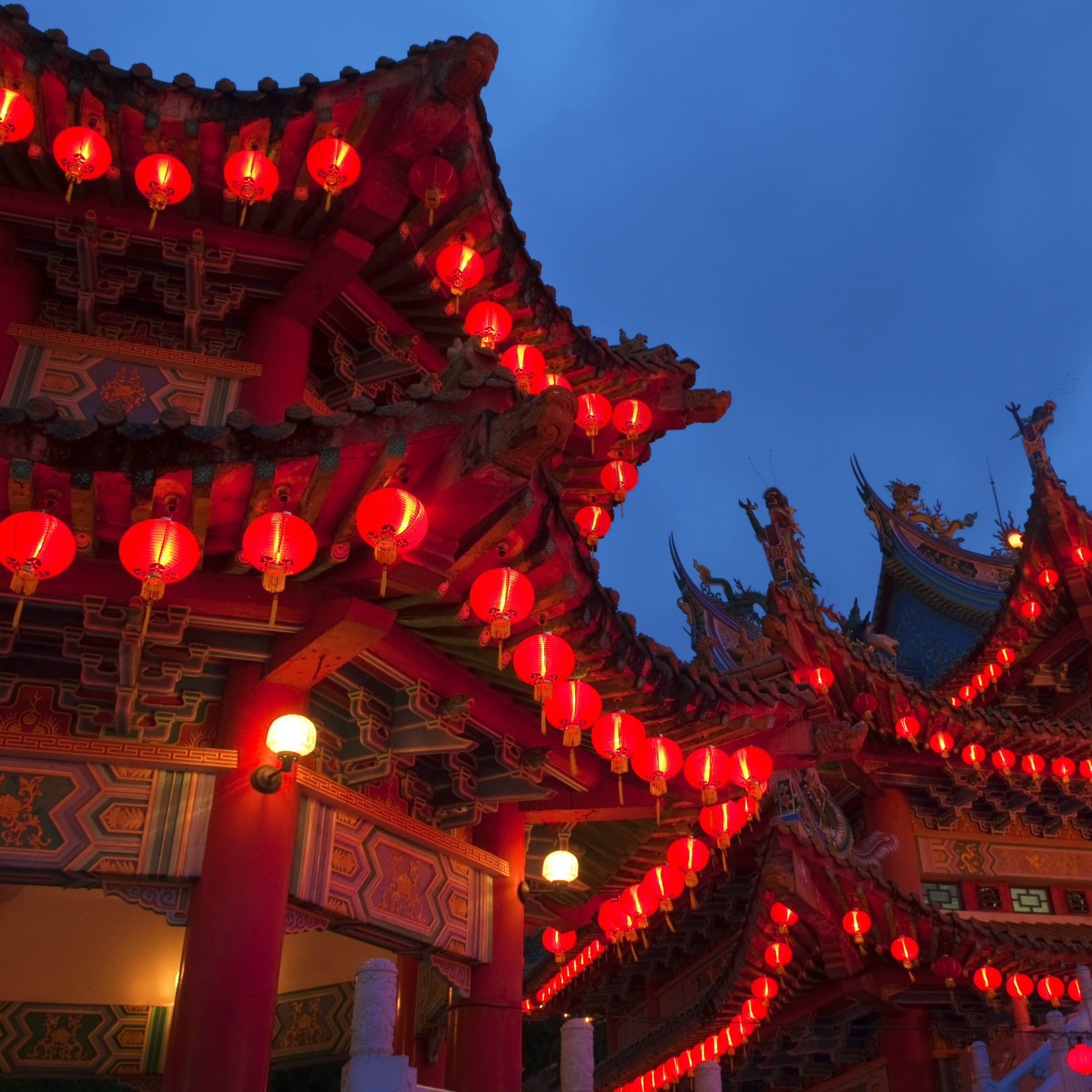 Chinese New Year lanterns in Beijing