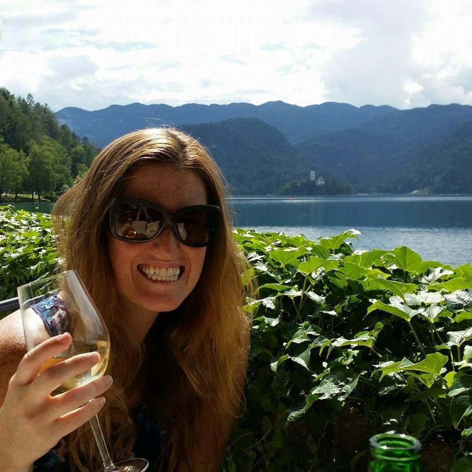 drinking wine in slovenia