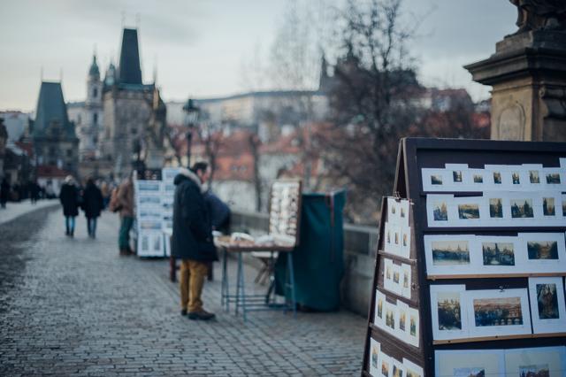 artisan stalls in prague