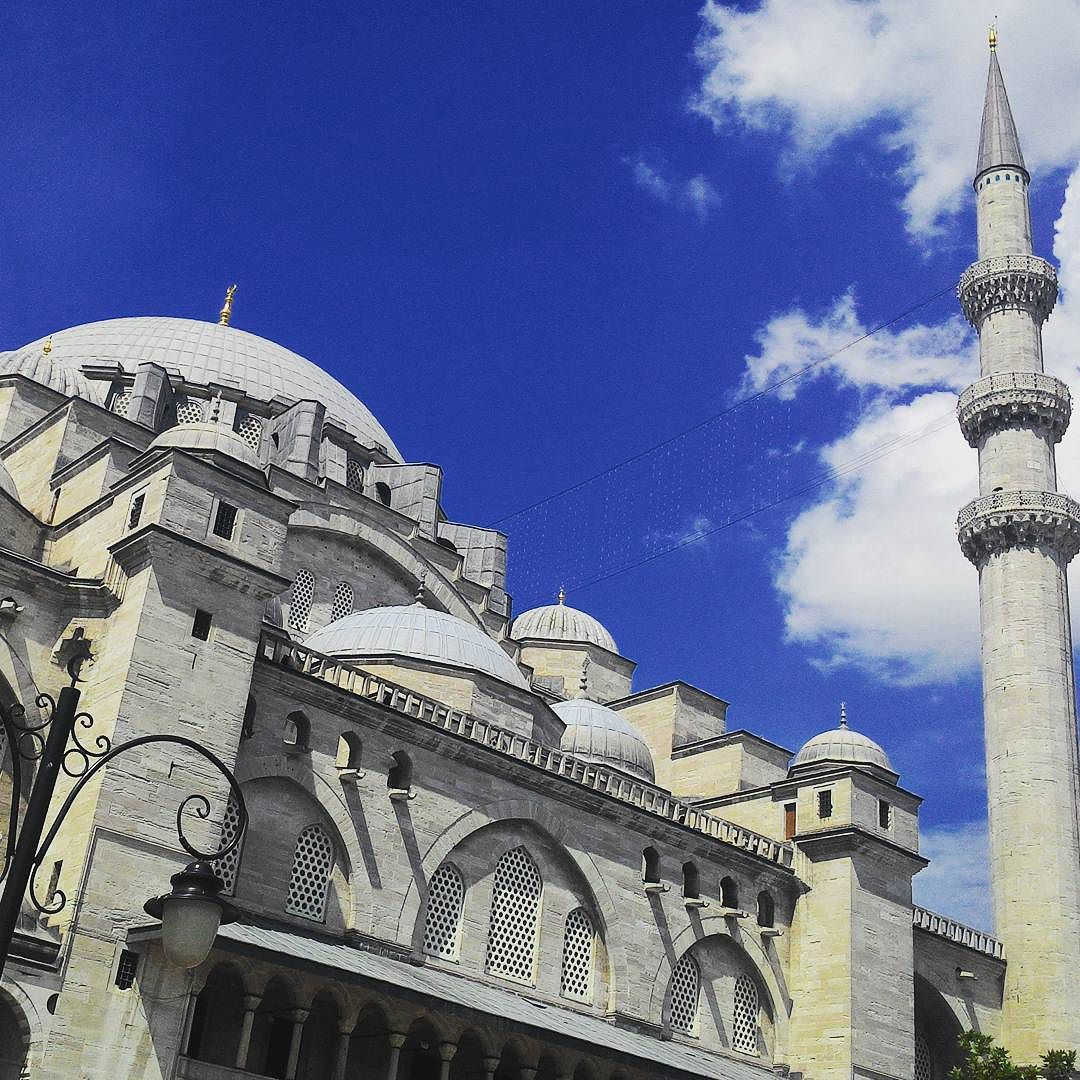 Exterior view of a mosque in Istanbul