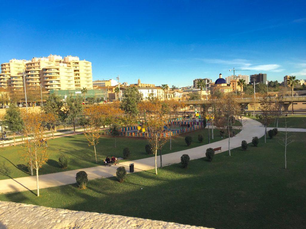 Turia Garden in Valencia