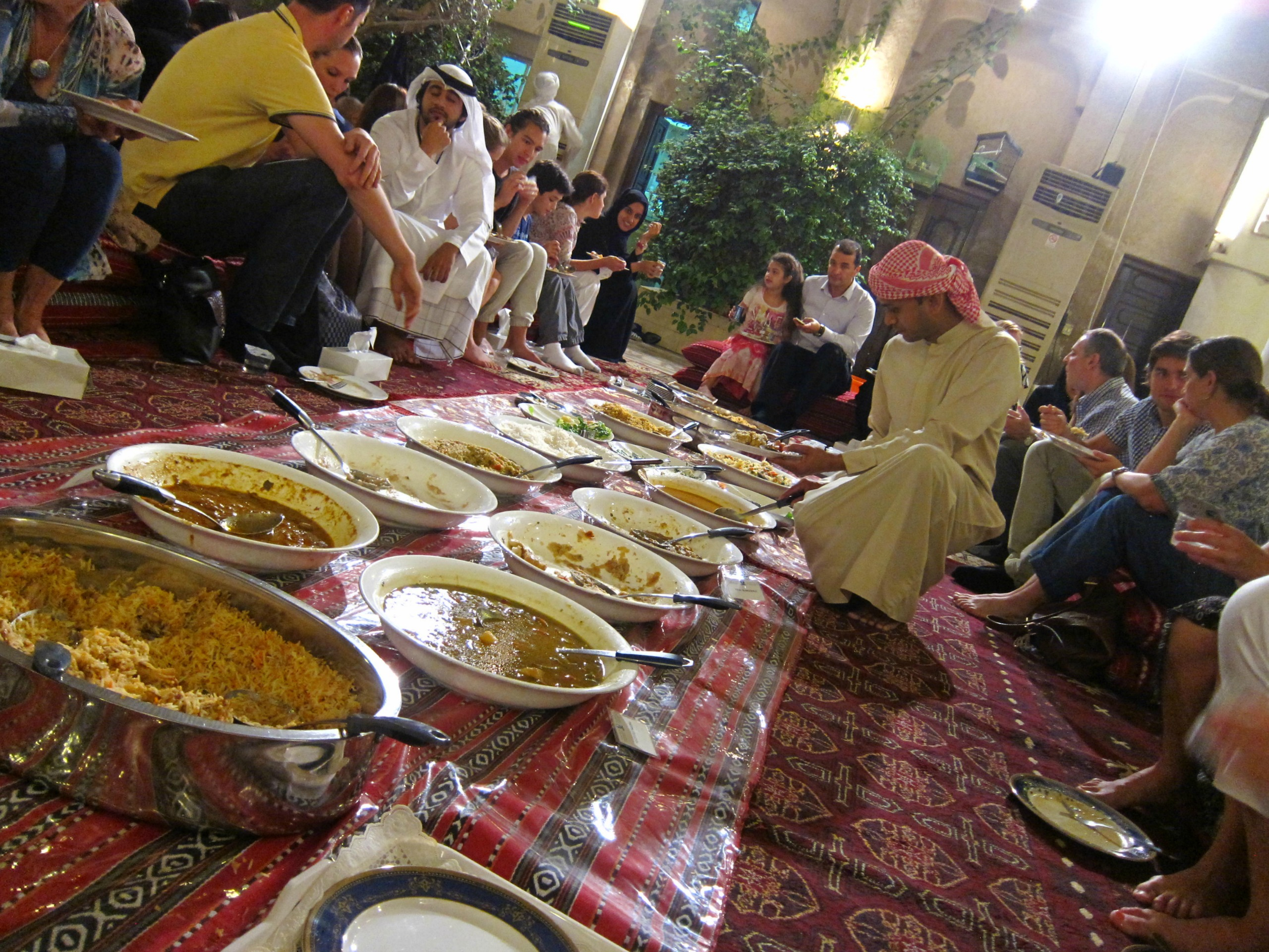 iftar buffet during Ramadan