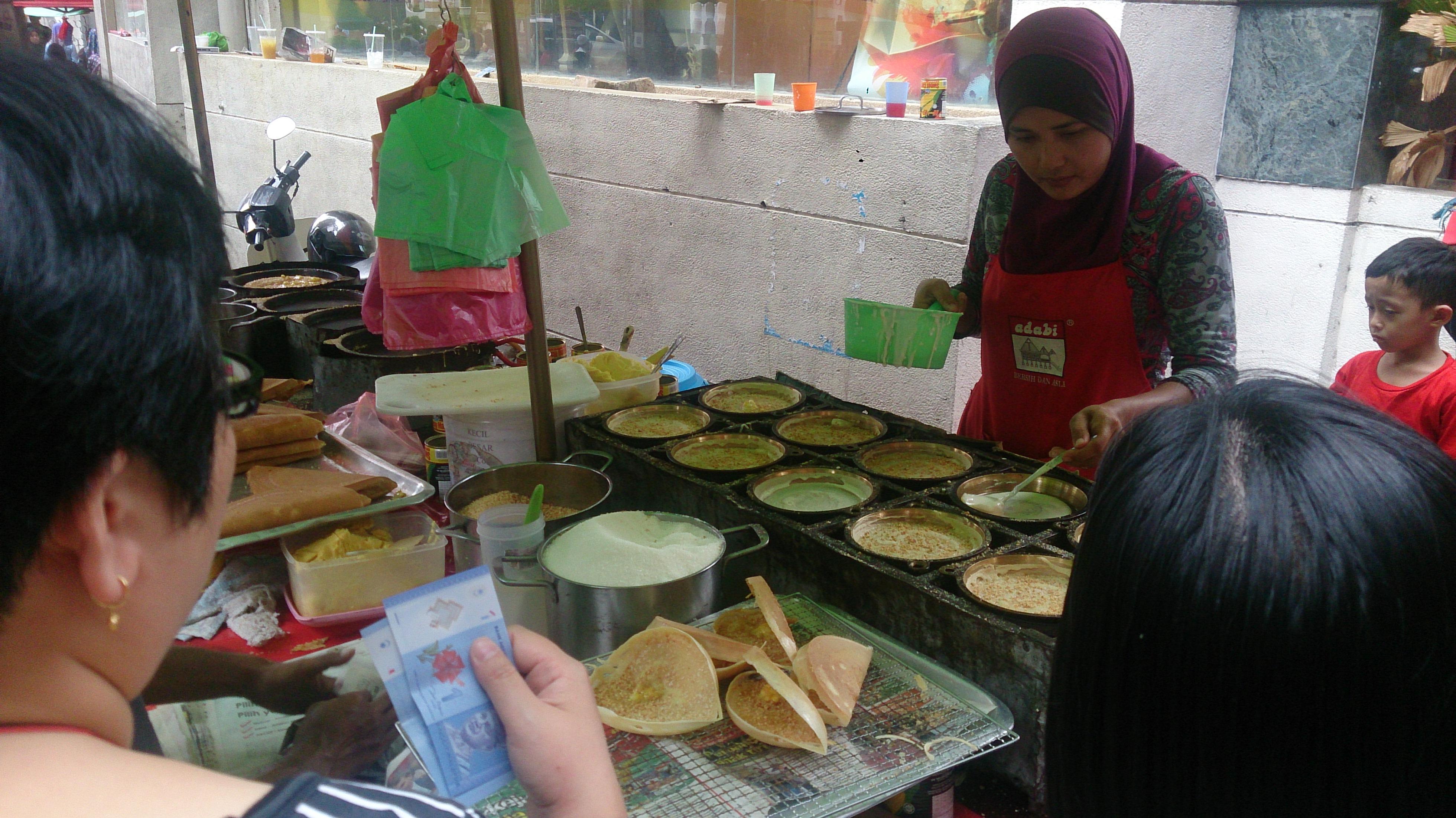 A food stall during Ramadan in Kuala Lumpur