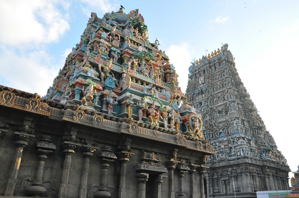 Dravidian-style temple in Chennai