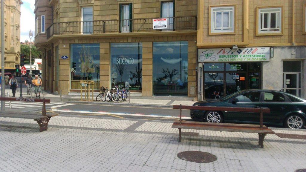 Belgrado restaurant in San Sebastian