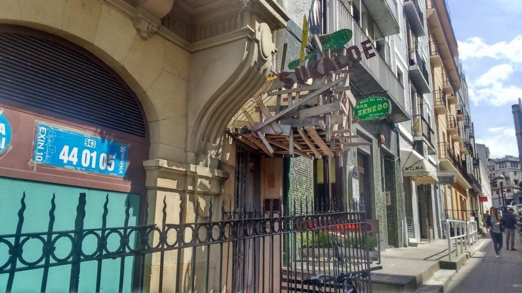 Sukalde restaurant in San Sebastian