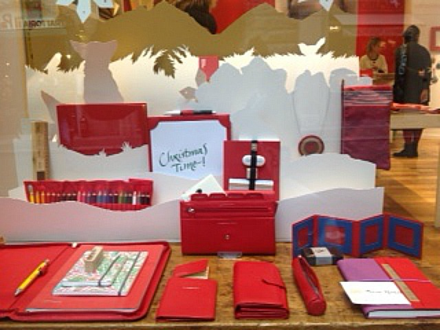 stationery on display in a Florence shop