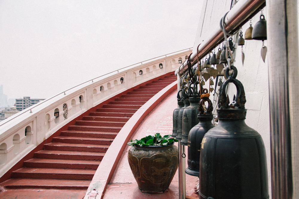 The endless stairs of the Golden Mount   Photo by The Common Wanderer