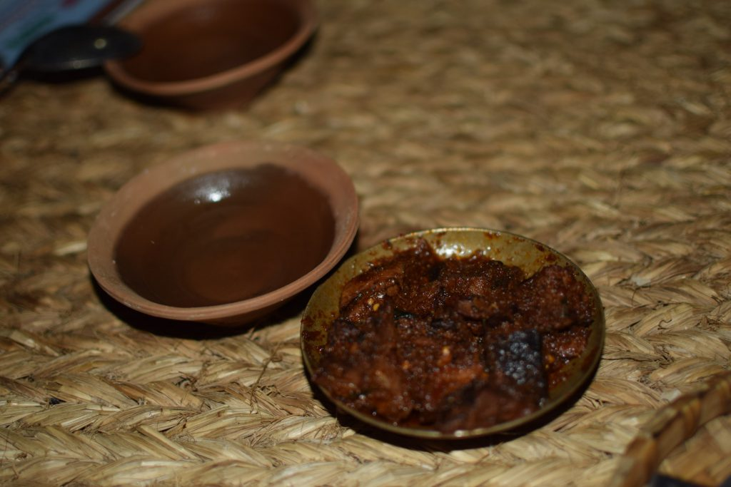 plates of buffalo tongue in Nepal