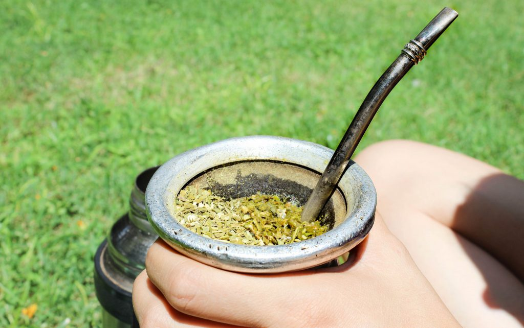 cup of mate tea in Buenos Aires