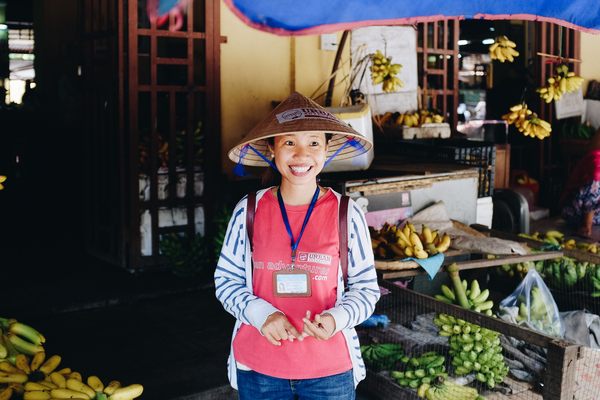 Urban Adventures guide in Hoi An