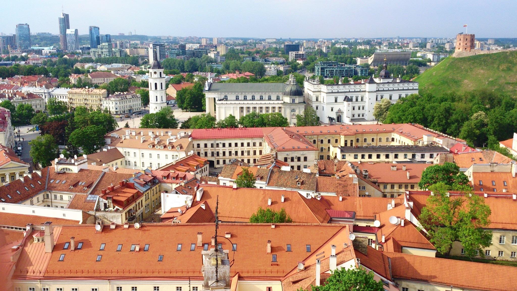 Rooftops of Vilnius