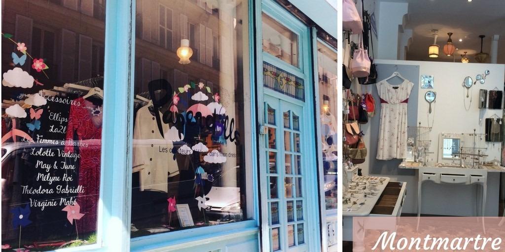 Monmartre shops