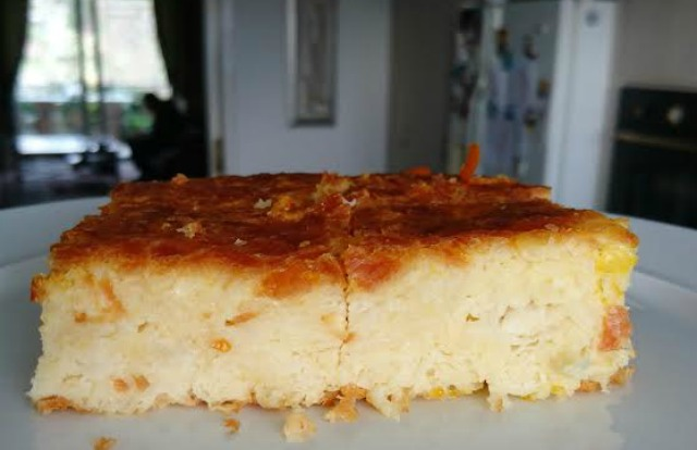 Greek-style orange cake