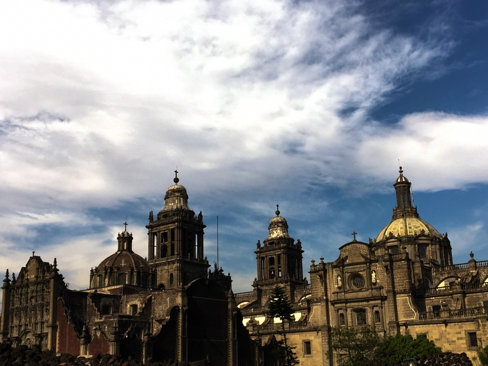old buildings in Mexico City