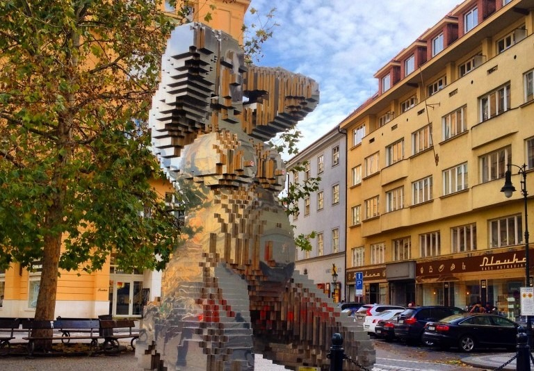 sculpture in Prague