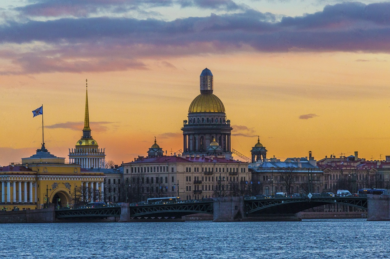 The city of St. Petersburg
