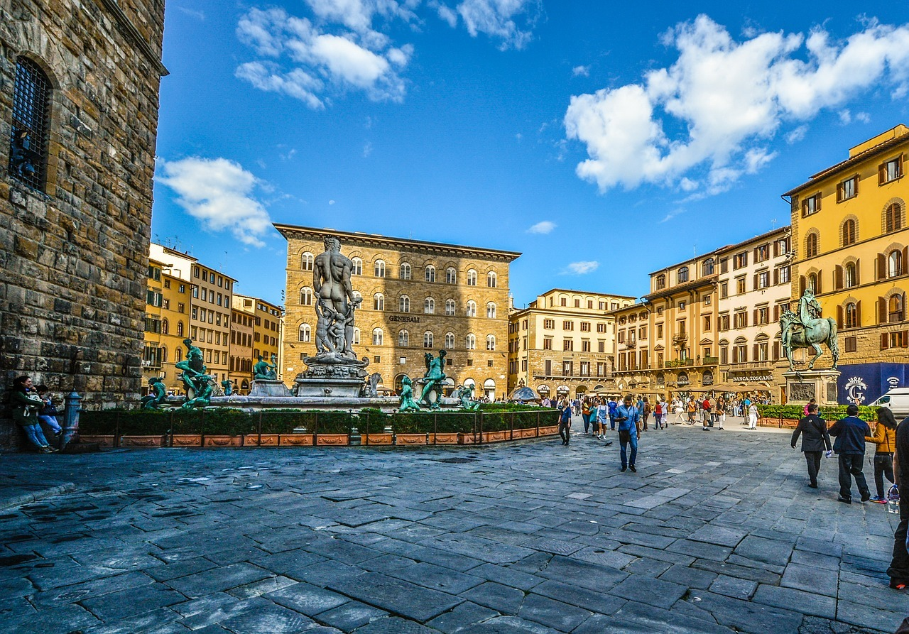 Historic square in Florence