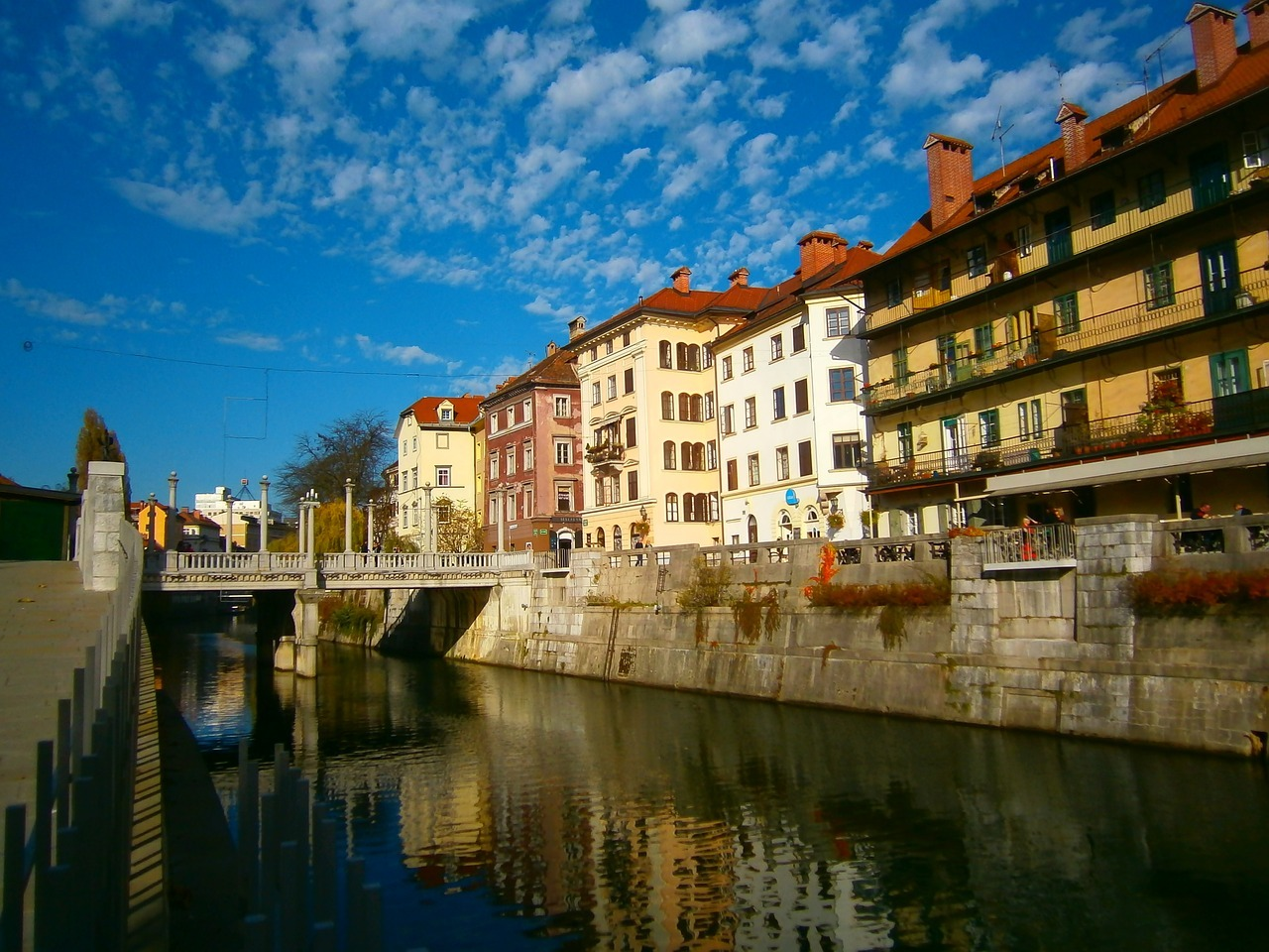 Ljubljana by the water