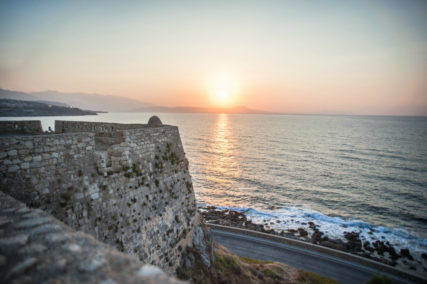Rethymnon sunset